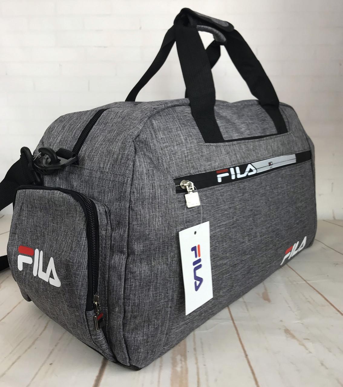 d01cbe78 ... Красивая спортивная сумка Fila.Сумка для тренировок. Дорожная сумка  КСС29, фото 6 ...