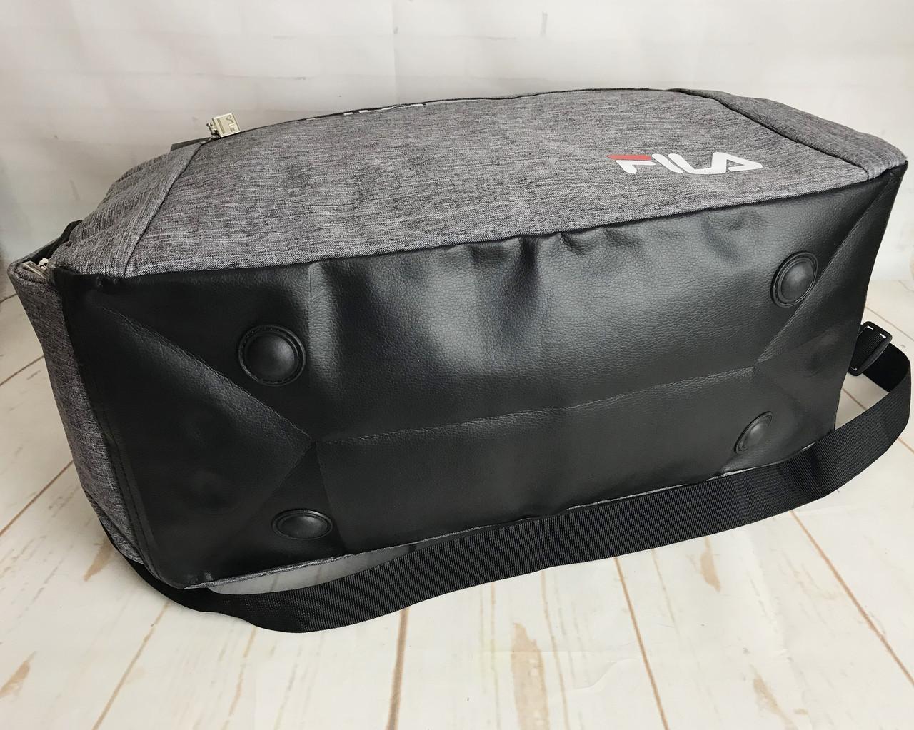 5595309f ... Красивая спортивная сумка Fila.Сумка для тренировок. Дорожная сумка  КСС29, фото 10