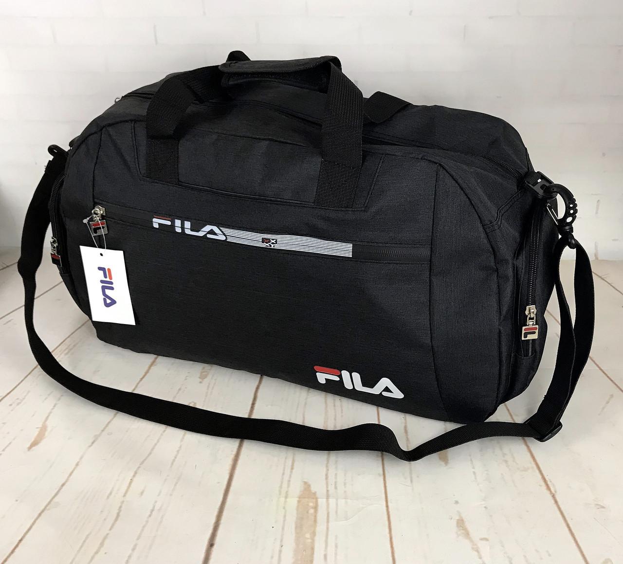 36cc989e Красивая спортивная сумка Fila.Сумка для тренировок. Дорожная сумка КСС29-1  - Интернет
