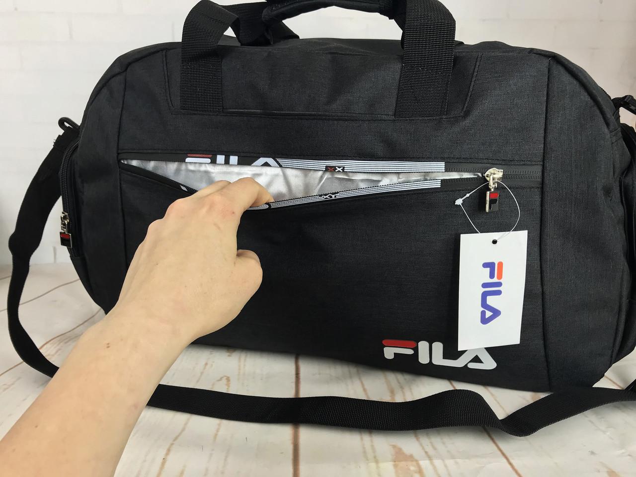1f210d447899 ... фото Красивая спортивная сумка Fila.Сумка для тренировок. Дорожная сумка  КСС29-1, ...