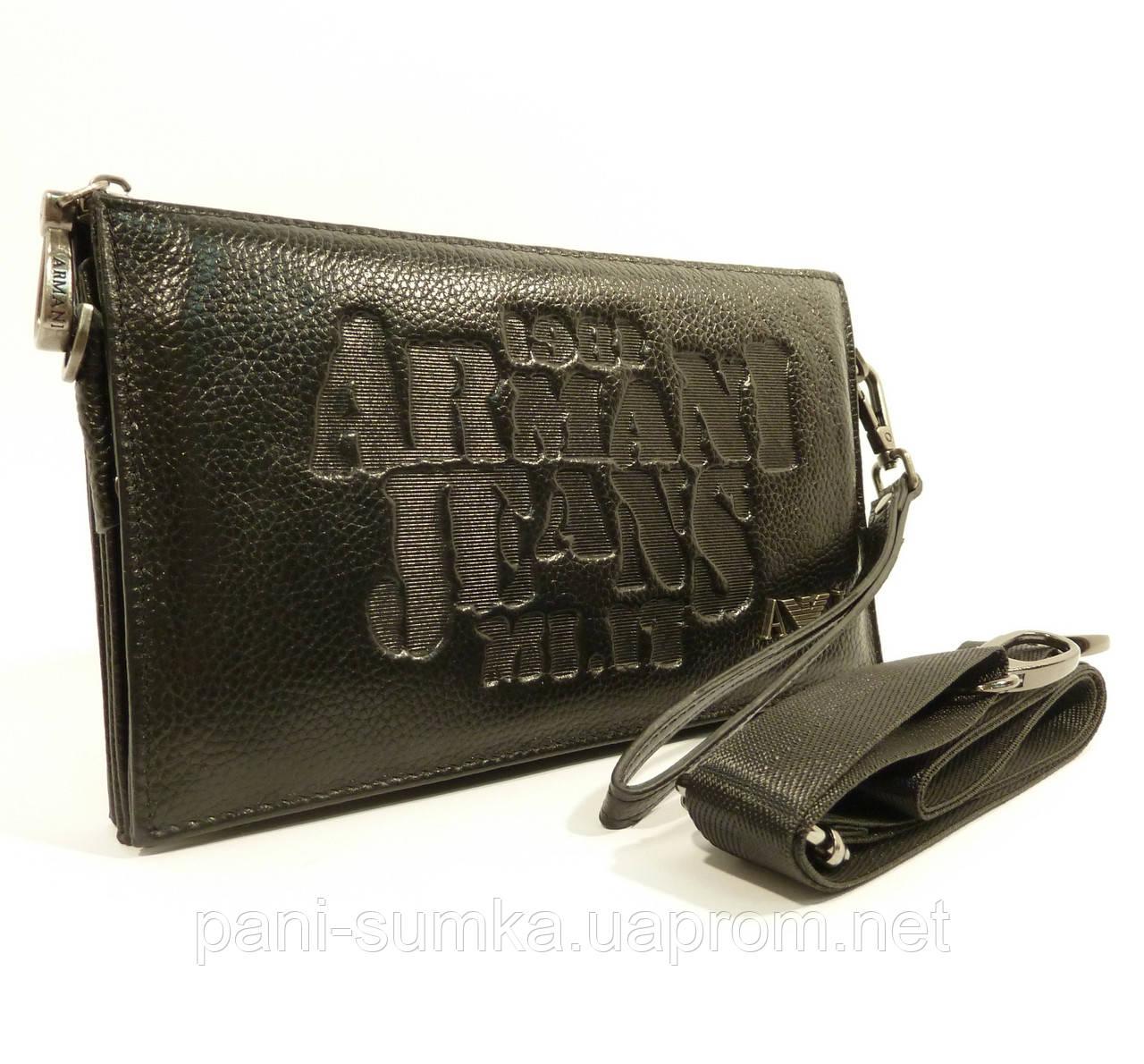 151adc838773 Клатч мужской кожаный Armani Jeans 921-1 черный, сумка мужская, цена 957  грн., купить Белгород-Днестровский — Prom.ua (ID#94868606)