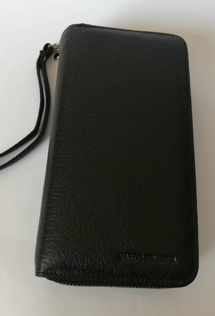 Мужской клатч-портмоне натуральная кожа Marco Coverna