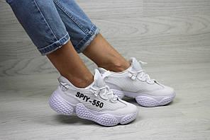 Кроссовки адидас женские белые демисезонные спортивные для фитнеса (реплика) Adidas SPIY-500 White