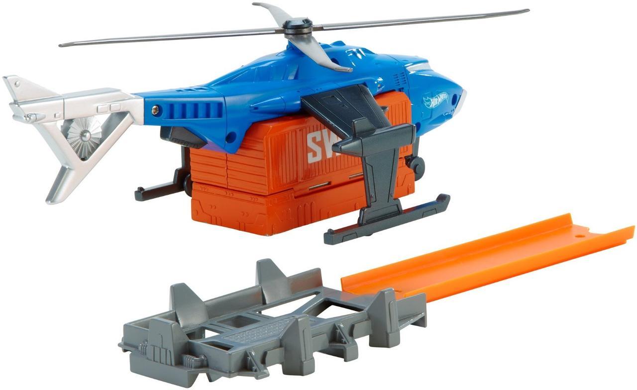 Набор Супер-боевой Вертолет Хот Вилс Hot Wheels SWAT Helicopter Vehicle