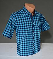 Мужская рубашка в крупную клетку Grand Men