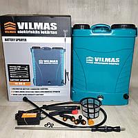 Аккумуляторный садовый опрыскиватель Vilmas 16 BS 8 Ач, фото 1