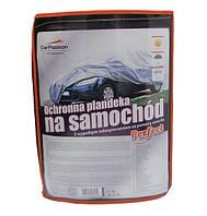 Чехол-тент на автомобиль серый, размер M (1,5x3,8x1,37м) MAMMOOTH  Perfect (трехслойный)