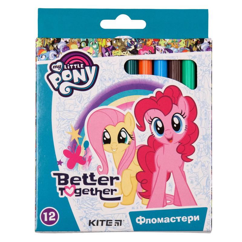 Фломастеры Kite 047 My Little Pony 12 цветов LP19-047