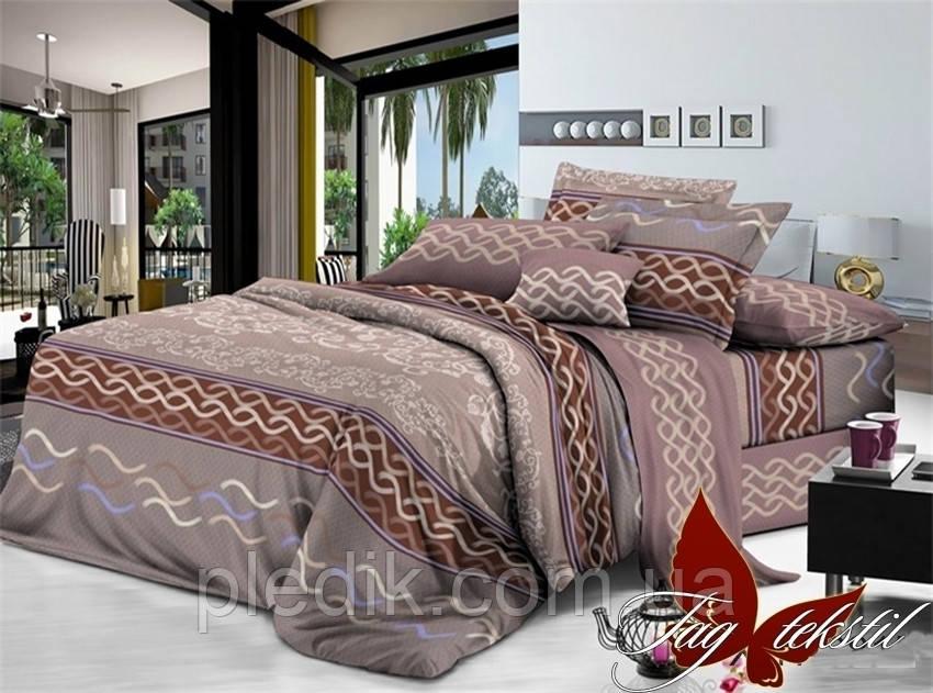 Комплект постельного белья 200х220 поликотон TAG XHY2815