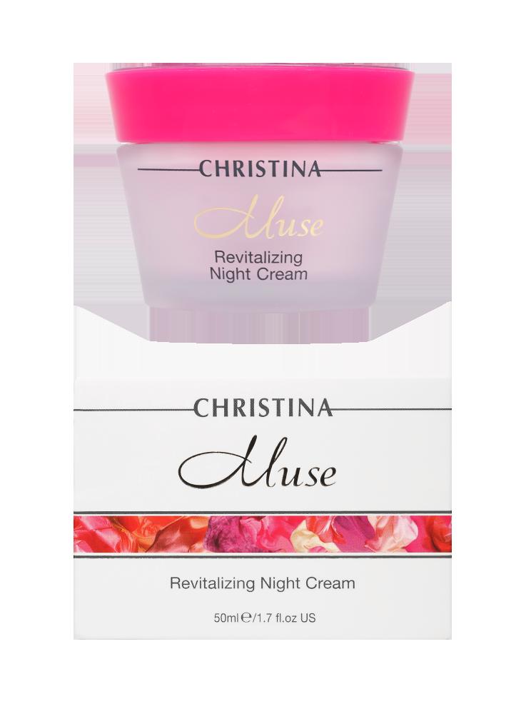 Мьюз Восстанавливающий ночной крем Muse Revitalizing Night Cream, 50 мл