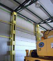 Противопожарные секционные ворота DoorHan  DUS-237 2,8м*2м, фото 1