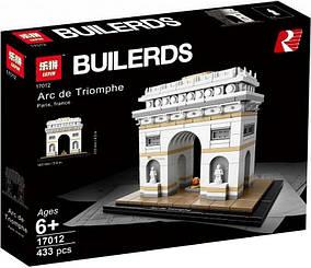 Конструктор Lepin 17012 Архитектура Триумфальная арка (аналог Lego Architecture 21036)