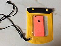 Водонепроницаемый чехол для телефона, фотоаппарата (гермопакет) 17 х 15 см.