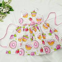 """Платье хлопковое """" Пончик"""", фото 1"""