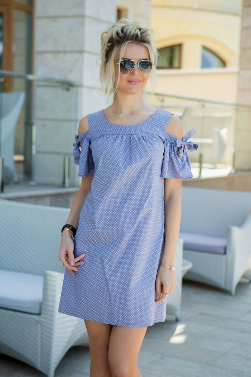 Лиловое летнее Платье Даша