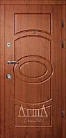 Двери входные  Арма кедр люкс тип 3 модель 113 квартира