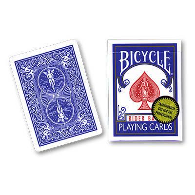 Карты игральные   Bicycle Rider Back Gold Edition by Richard Turner (синяя), фото 2
