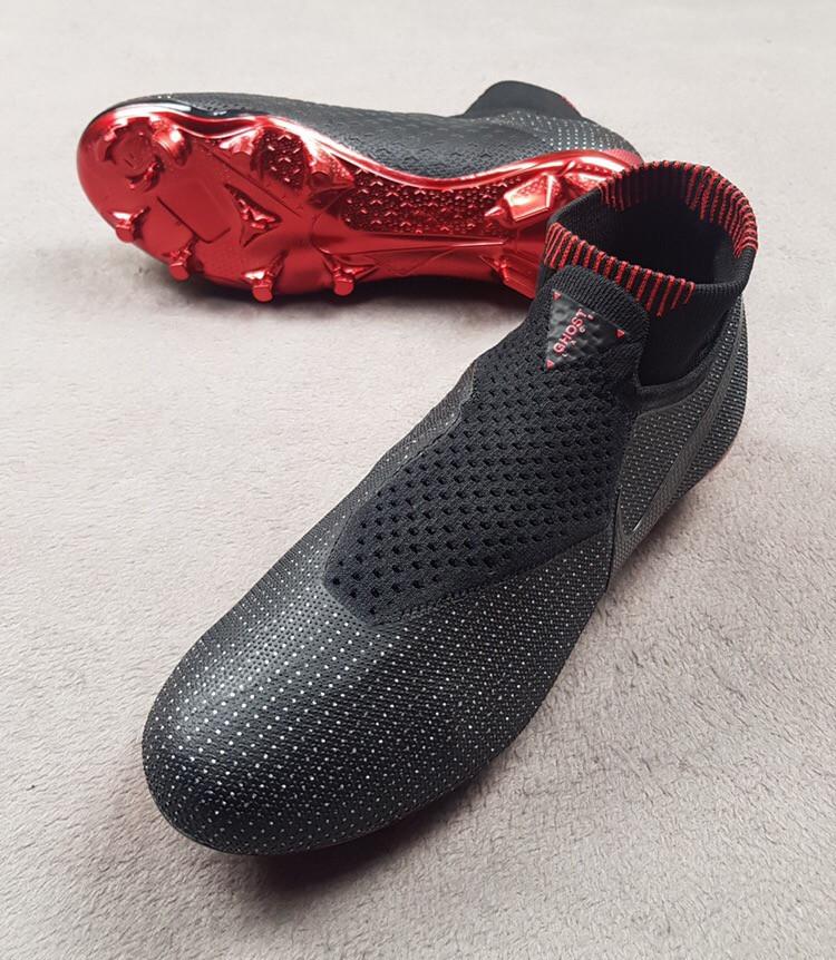 Бутсы Nike Phantom Vision Jordan X PSG Elite чёрно-красные