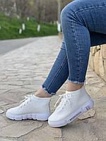 Кроссовки женские 10 пар в ящике белого цвета 36-39 повторы |37-3|38-3|39-3|, фото 2