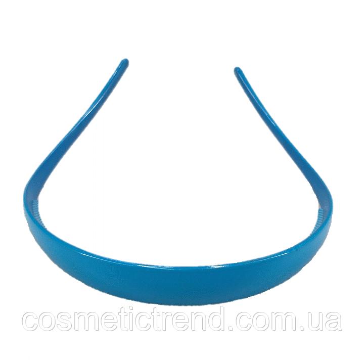 Обруч для волос голубой глянцевый (Франция)
