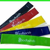 Резинки для фитнеса Bodbands - 5 шт. купить оптом, фитнес ленты опт, эспандеры тренировочные