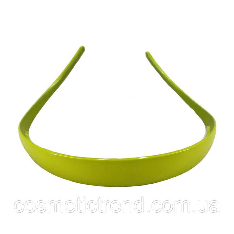 Обруч для волос салатовый глянцевый (Франция)