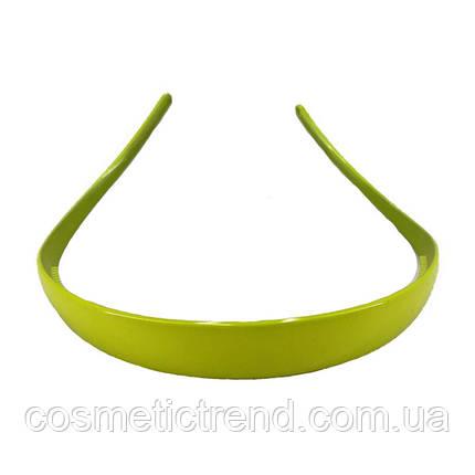 Обруч для волос салатовый глянцевый (Франция), фото 2