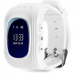 Детские умные часы-телефон с GPS трекером Baby Smart Watch Q50 Original Белые