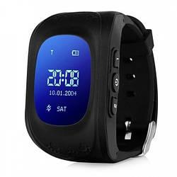 Детские умные часы-телефон с GPS трекером Baby Smart Watch Q50 Original Черные