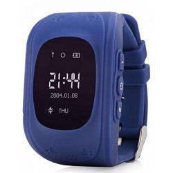 Детские умные часы-телефон с GPS трекером Baby Smart Watch Q50 Original Синие