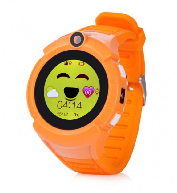 Детские умные часы-телефон с GPS трекером Baby Smart Watch Q360 (Q610) Original Оранжевые