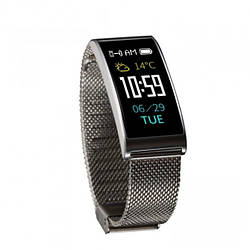Фитнес-браслет Smart Band X3 Tonometr Steel Edition Серебро