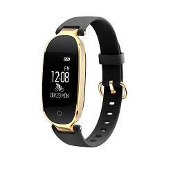 Фитнес-браслет Smart Band S3 Золото-черный