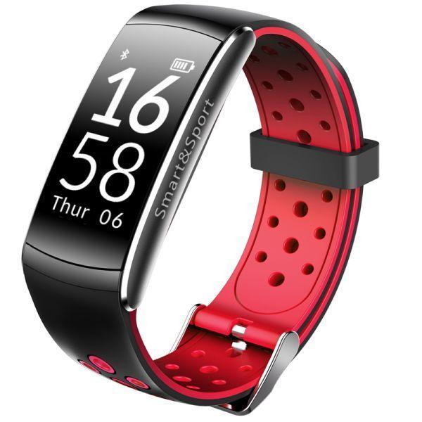 Фитнес-браслет Smart Band Q8 Tonometr Sport Edition Красные