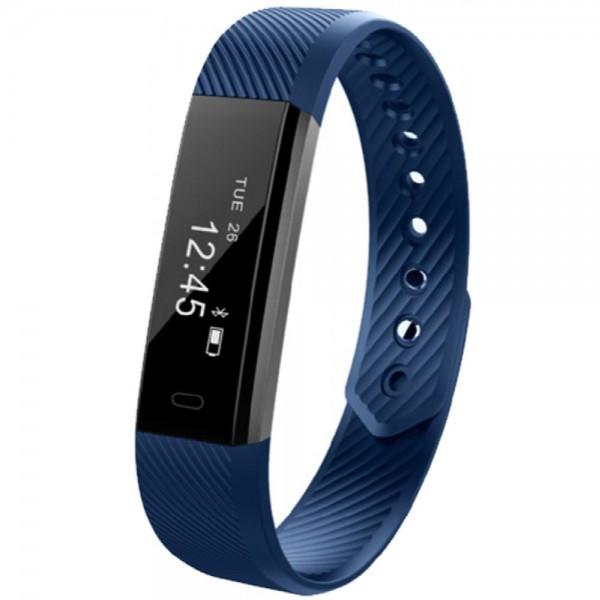 Фитнес-браслет Smart Band Maxi ID115  Синий