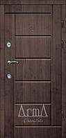Двери входные Арма венге горизонт темный тип 3 модель116 квартира
