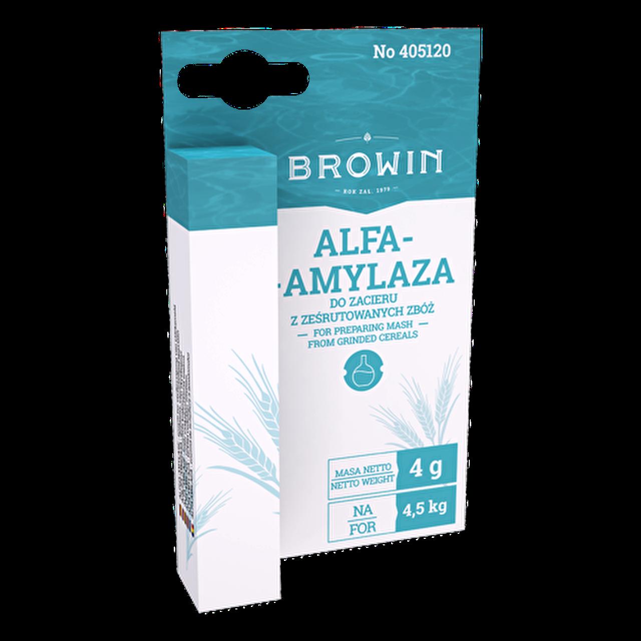 Энзим Альфа-амилаза, 4 гр, BIOWIN (Польша)