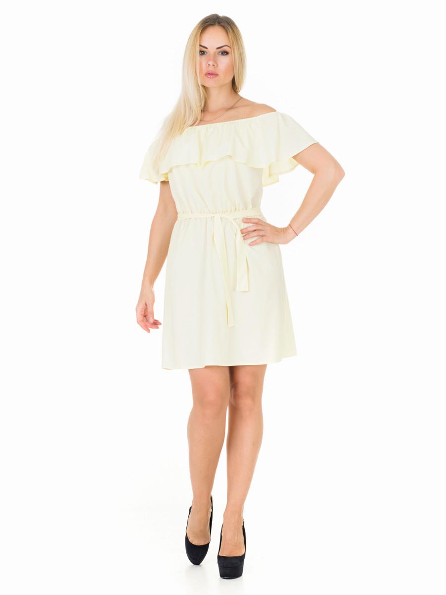 Женское платье с воланом PR7705