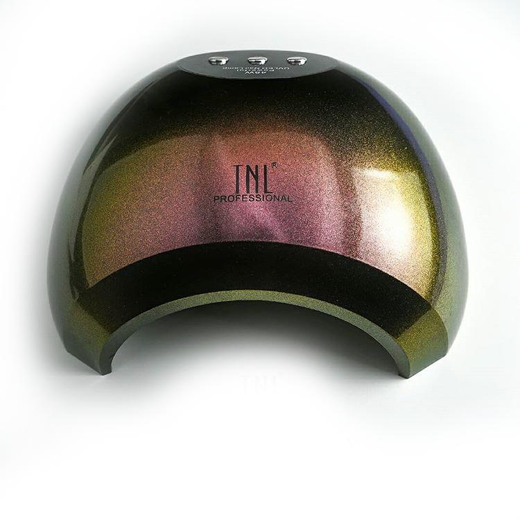 Лампа TNL Professional-003 48W LED+UV для маникюра (полимеризации гель-лака, геля) Оливковый хамелеон