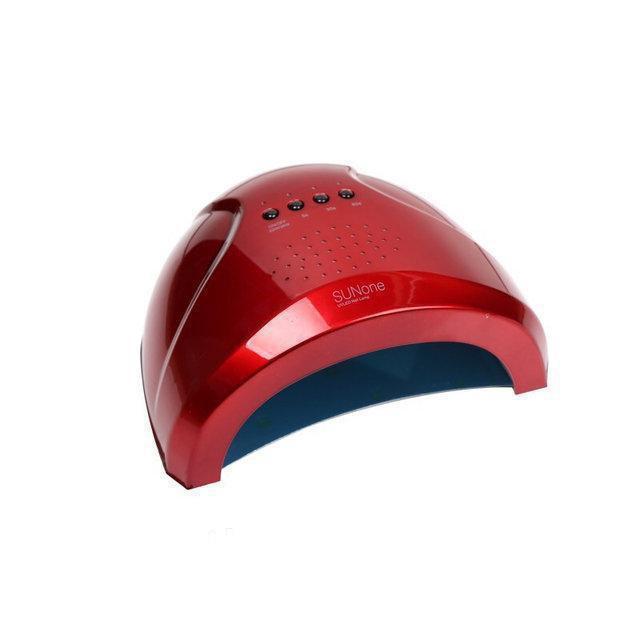 Лампа SUN ONE 36W UV+LED для маникюра (полимеризации гель-лака, геля) Красный