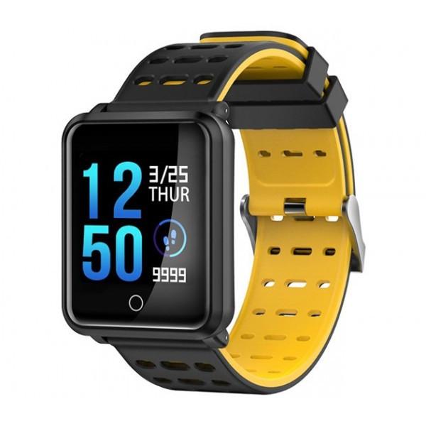 Умный фитнес-браслет Smart Band Pro N88 Original (тономентр) Черный