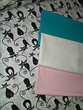 Комплект постельного белья в кроватку Кошки грация, фото 5
