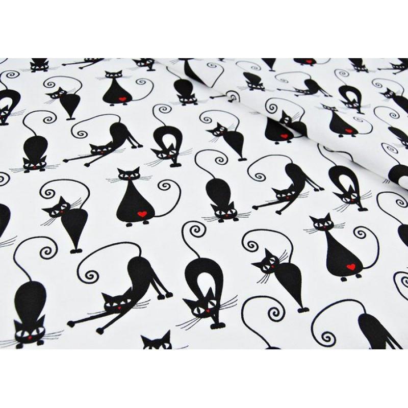 Комплект постельного белья в кроватку Кошки грация