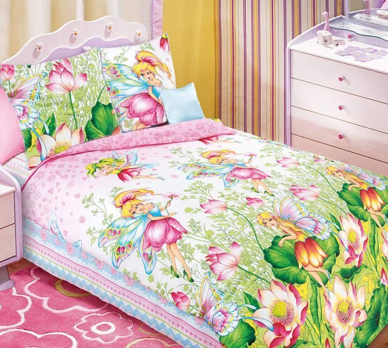 """Копия Комплект постельного белья """"Волшебный мир"""", в кроватку"""