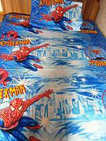 Комплект постельного белья  для мальчиков Спайдермен,  Человек паук, фото 1