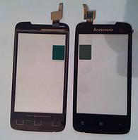 Lenovo A390 тачскрін чорний  сенсор оригінальний