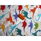 Комплект постельного белья Дино-пати,  в  детскую кроватку, фото 5