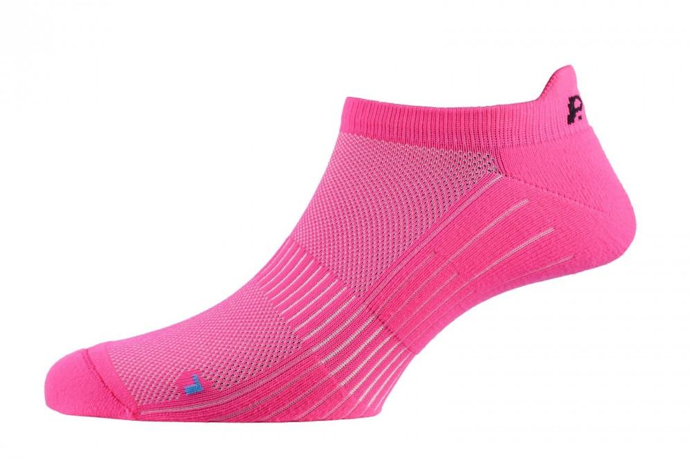 Шкарпетки жіночі P.A.C. Footie Active Short Women Neon Pink 35-37