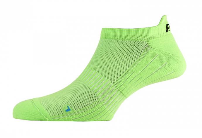 Шкарпетки жіночі P.A.C. Footie Active Short Women Neon Green 35-37, фото 2