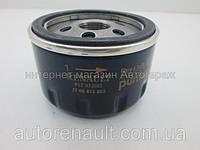 Фильтр масляный на Рено Лоджи 1.6i+1.6i 16V(K4M 845) 2012> - Renault (оригинал) 7700274177